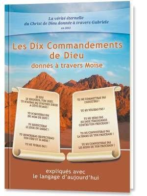 Les Dix Commandements de DIEU donnés à travers Moïse.