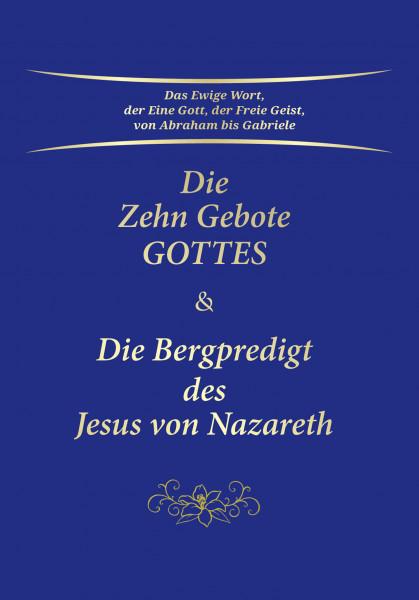 eBook - Die Zehn Gebote Gottes & Die Bergpredigt