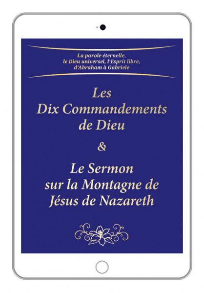 eBook - Les Dix Commandements de Dieu & Le Sermon sur la Montagne de Jésus de Nazareth