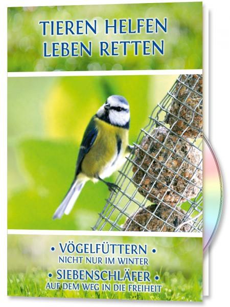 Tieren Helfen - Leben Retten. Vögelfüttern - Siebenschläfer