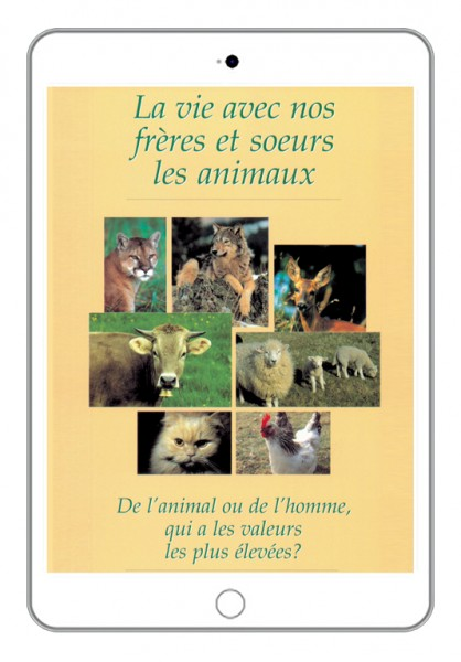 eBook - La vie avec nos frères et soeurs les animaux