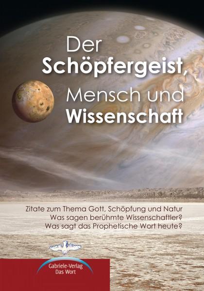 eBook - Der Schöpfergeist Mensch und Wissenschaft