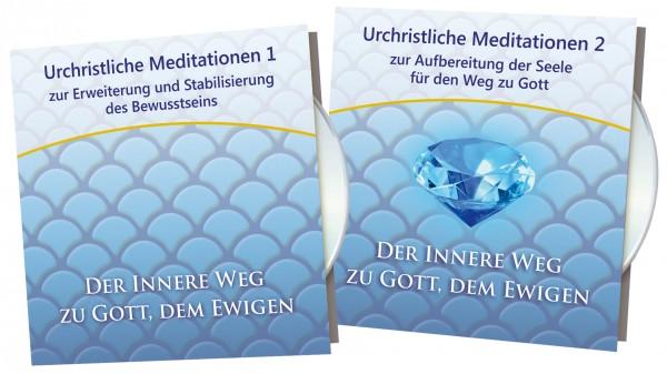 Urchristliche Meditationen CD- Box 1 + 2