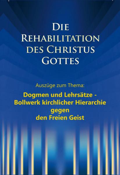 e-Book - Die Rehabilitation - Auszüge aus dem Kapitel: Dogmen und Lehrsätze