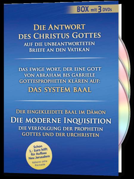 Die Antwort des Christus Gottes & Das System Baal & Die moderne Inquisition