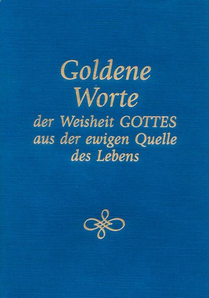 eBook - Goldene Worte der Weisheit Gottes aus der ewigen Quelle des Lebens