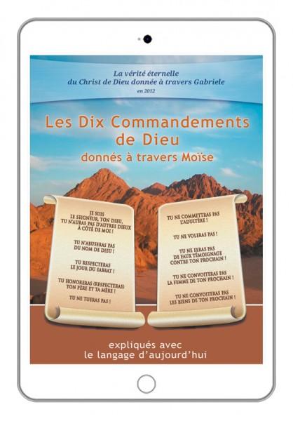 eBook - Les Dix Commandements de DIEU donnés à travers Moïse