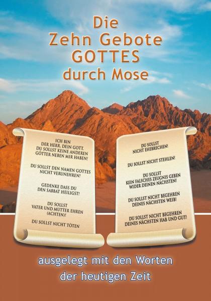 eBook - Die Zehn Gebote Gottes durch Mose